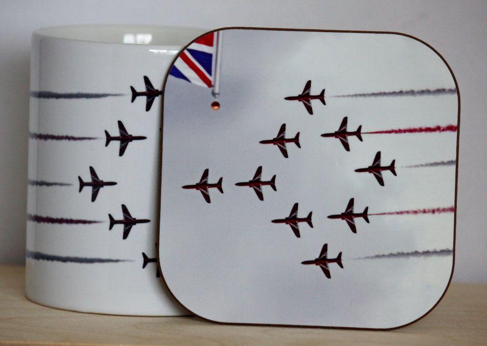 The Red Arrows Gift Set - Mug & Coaster