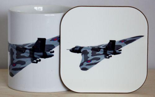 Vulcan Bomber Gift Set - Mug & Coaster