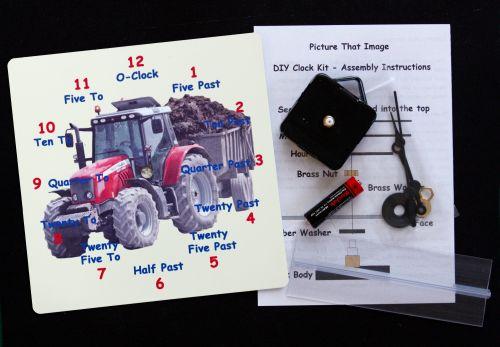 Tractor Clock kit
