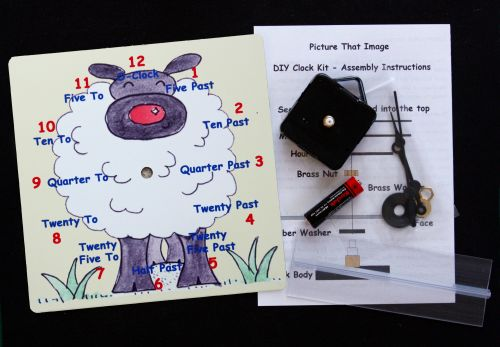 Sheep Clock Kit