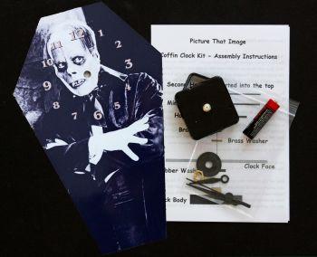 DIY Coffin Clock Kit - Lon Chaney Snr