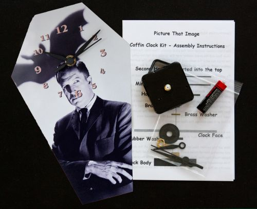 DIY Coffin Clock Kit - Vincent Price