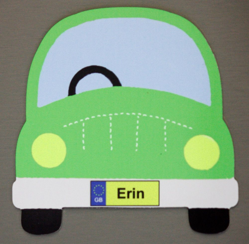 Green Car - Name only