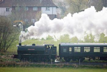 Vehicles - Steam Train (K&ES Railway)