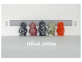 Jelly Babies - The Usual Jellies
