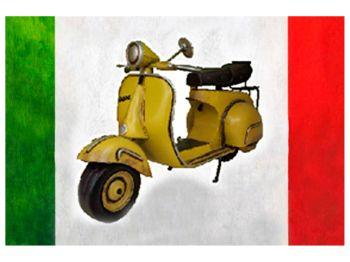 Vehicles - Vespa Scooter