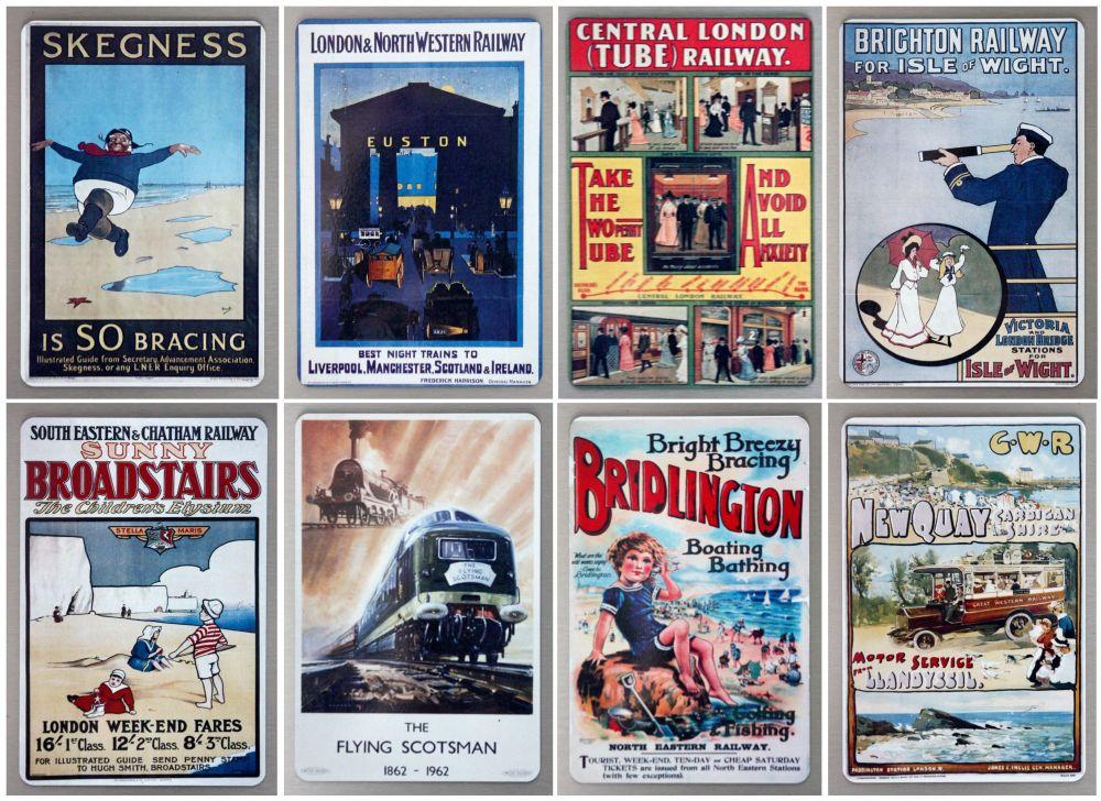 Railways - Set of Eight