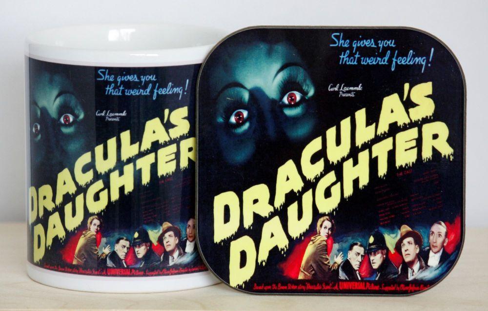 Dracula's Daughter Gift Set - Mug & Coaster