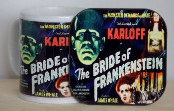 Bride of Frankenstein - Mug & Coaster