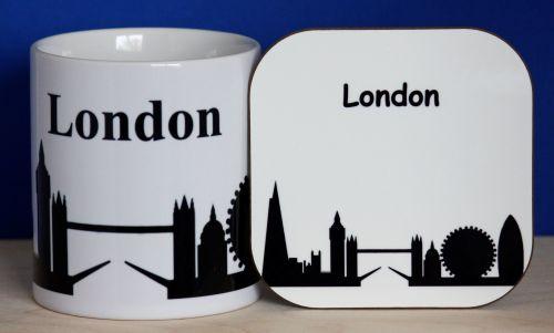 London - Mug & Coaster