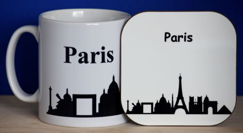 Paris - Mug & Coaster