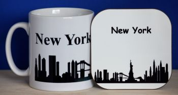 New York - Mug & Coaster