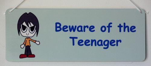 Beware of the Teenager