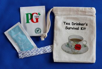 Tea Drinker's Survival Kit - Cup & Saucer