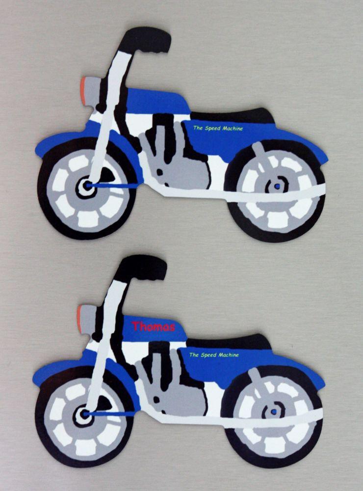 Motorbike Fridge Magnet