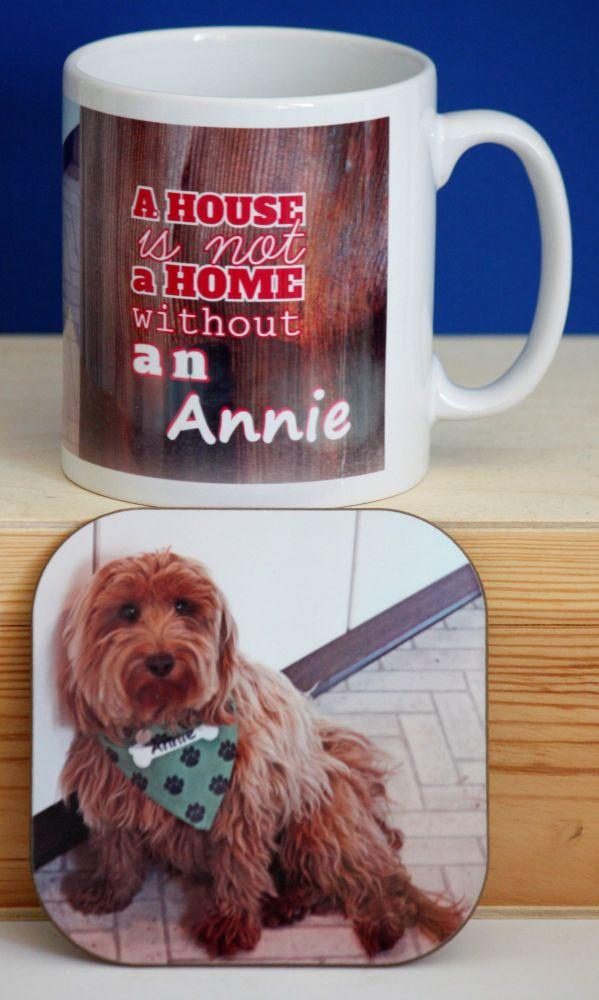 Personalised Mug & Coaster Gift Set