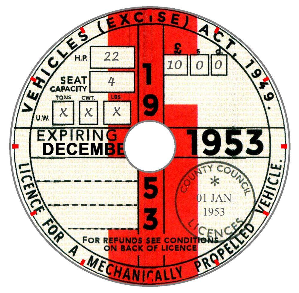1953 Tax Year
