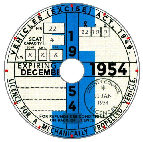 1954 Tax Year