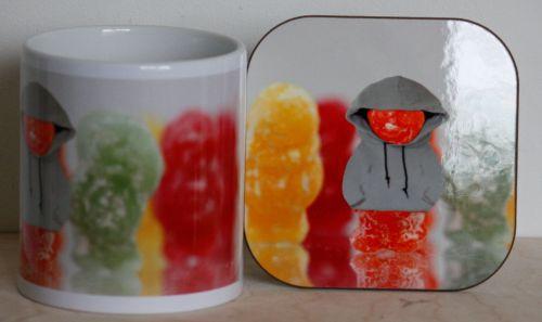 Hoodie Jelly - Mug & Coaster