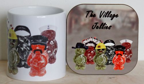 The Village Jellies - Mug & Coaster