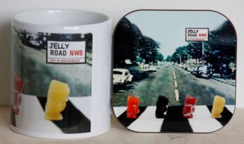 Jelly Road - Mug & Coaster