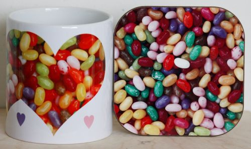Jelly Beans - Mug & Coaster