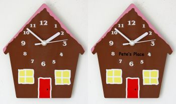 Gingerbread House Clock