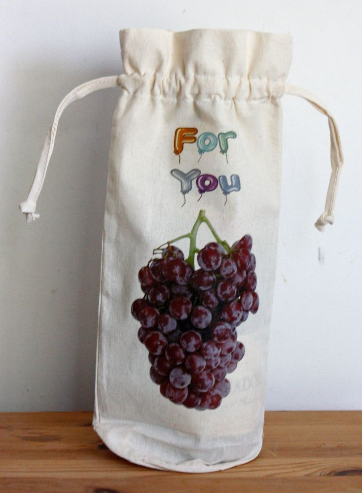 Bottle Bag - For You (Draw String)