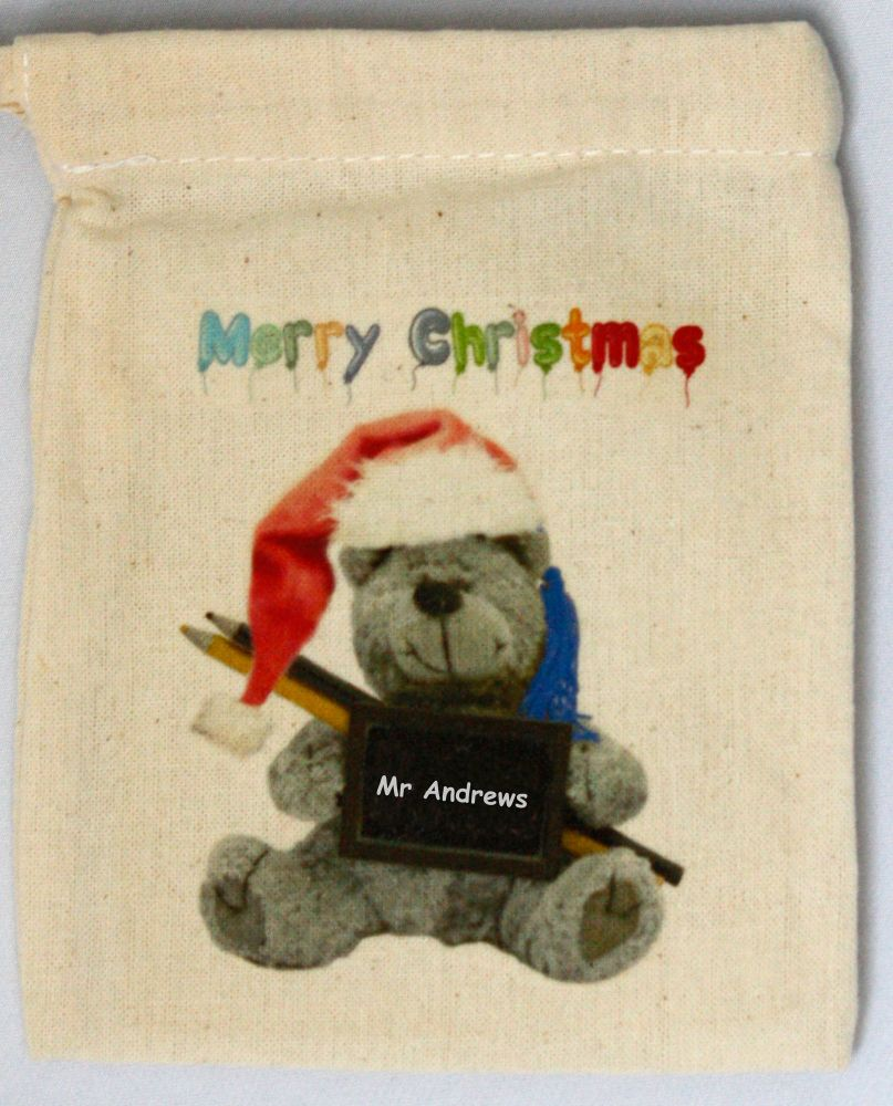Personalised End of Term Christmas Gift Bag