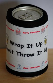 Novelty Christmas Beer Can Holder