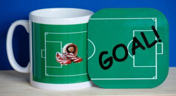 Football - Mug and Coaster