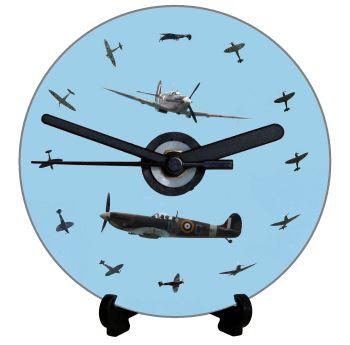 Spitfire - Spitfire Dial, Blue Background