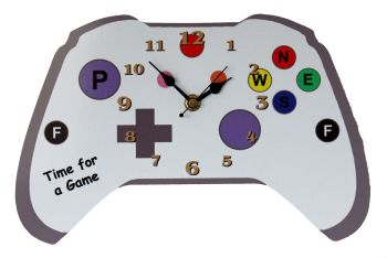 Games Console Clock - Can be Personalised