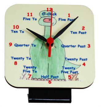 Teach the Time - Dinosaur (Silent Clock)