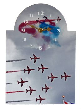 Bar Sign Clock - The Red Arrows
