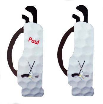 Golf Clubs - Fridge Magnet