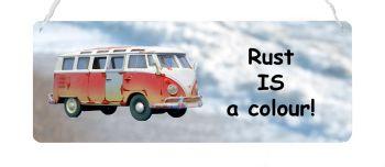 Camper Van - Rust IS a colour!
