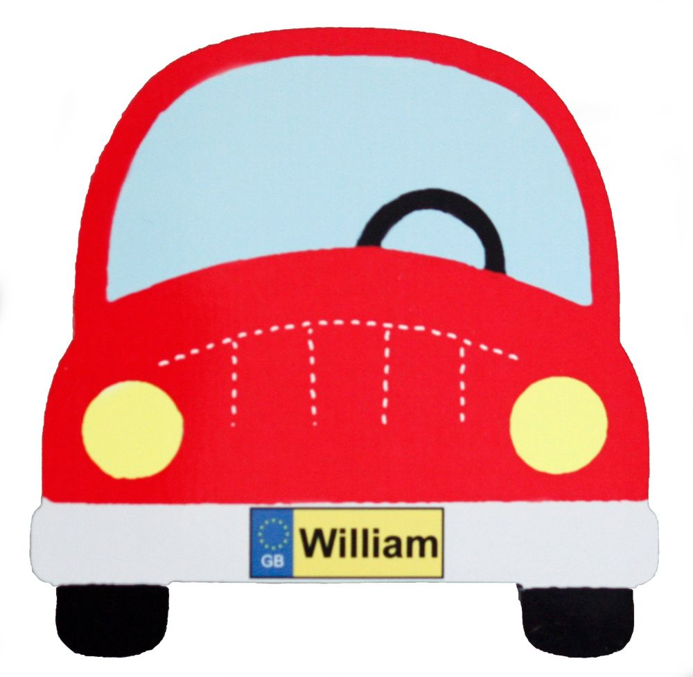 Red Car - Name only