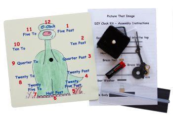 Dinosaur Clock Kit