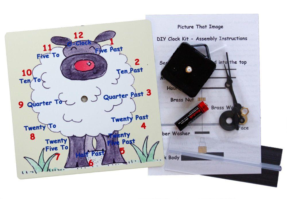 Sheep Clock Kit