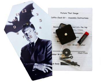 DIY Coffin Clock Kit - Vincent Price