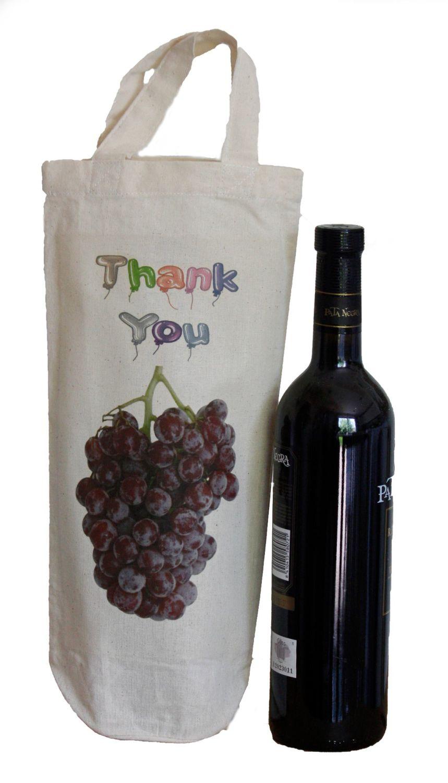 Bottle Bag - Thank You (Handles)