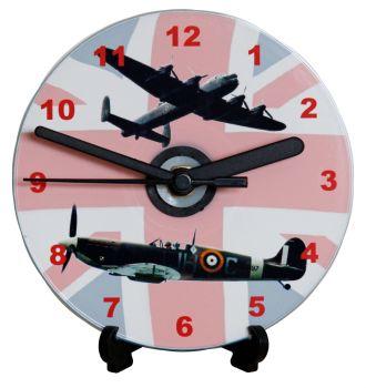 Spitfire & Lancaster