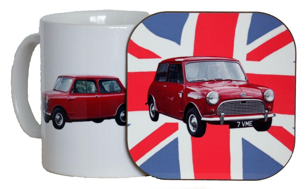 Austin Seven Mini - Mug & Coaster