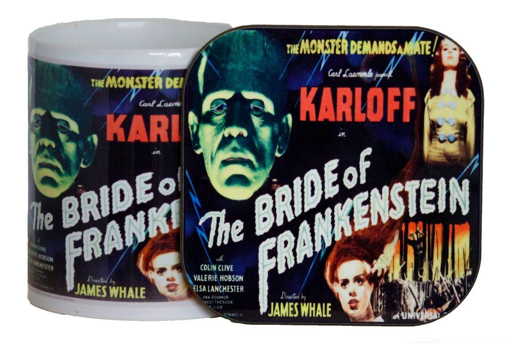 Bride of Frankenstein - Mug & Coaster