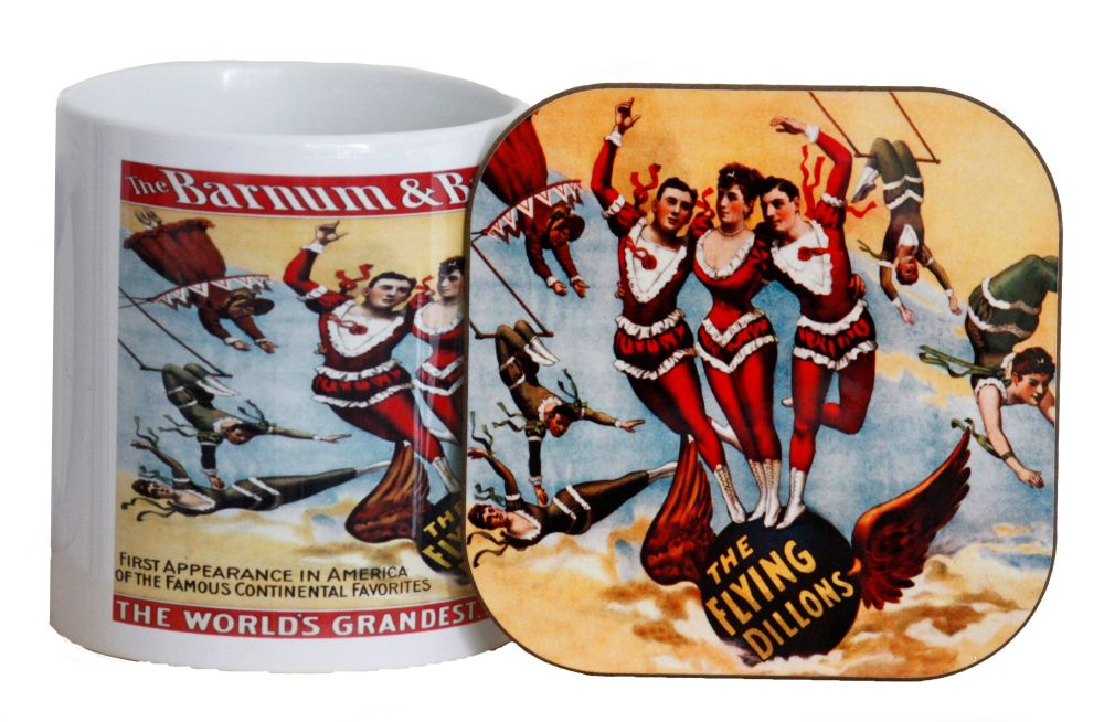 Circus Mug & Coaster