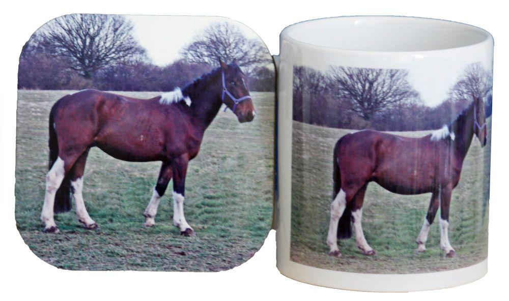 Horse - Mug & Coaster