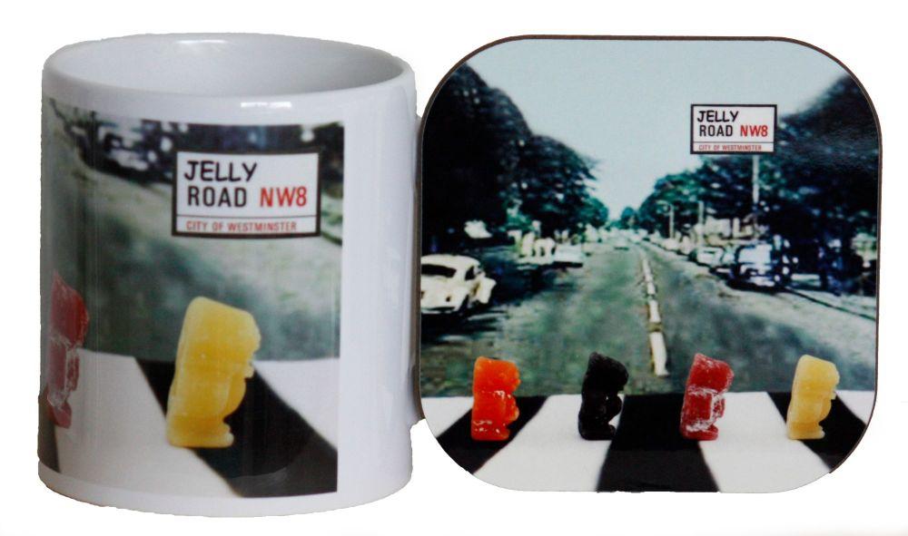 Jelly Road - Mug & Coaster