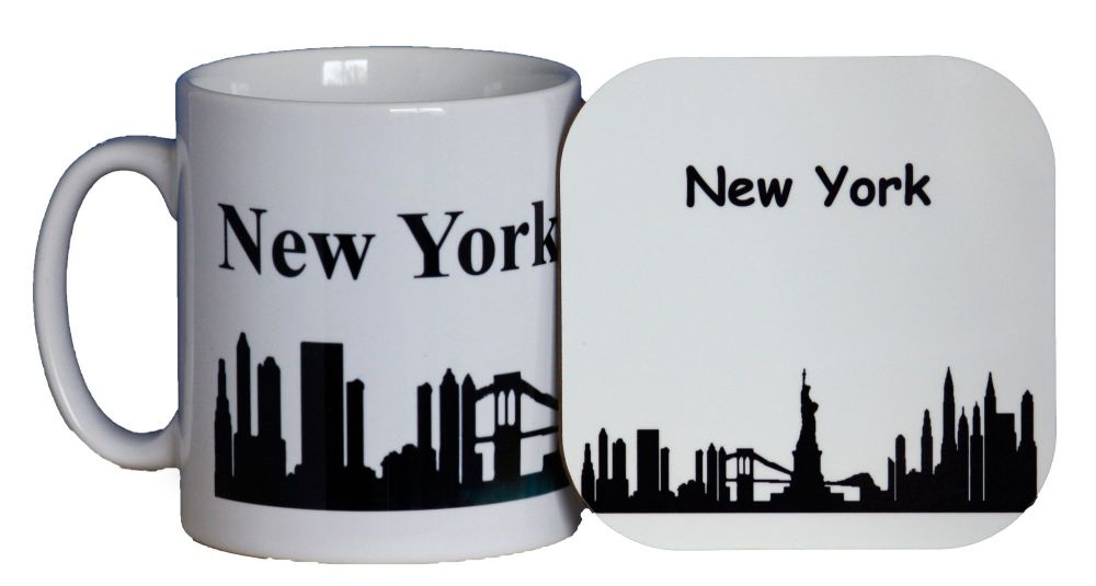 New York - Mug & Coaster