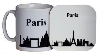 Paris - Mug & Coaster